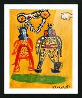 Klimt inspiration. Clyde O. Picture Frame print