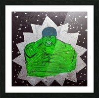 Hulk. Brandon C Picture Frame print