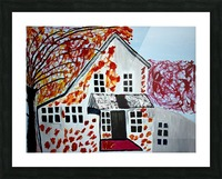 Autumn Day. Cindy A Picture Frame print
