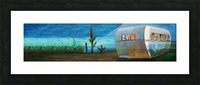 Airstream by Nancy D. Picture Frame print