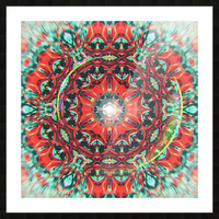 Abstract Mandala I Picture Frame print