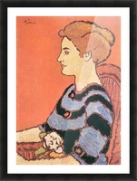 Lady in Blue by Joseph Rippl-Ronai Picture Frame print