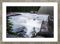 Columbia River Picture Frame print