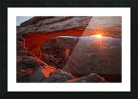 Mesa Arch Sunrise Picture Frame print