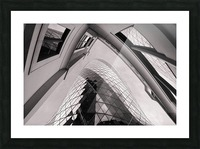 Gherkin Picture Frame print