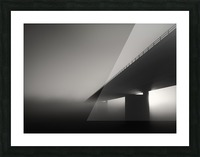 Endless road Picture Frame print