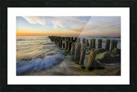 Lace sunset Picture Frame print