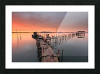 The last... Light Picture Frame print