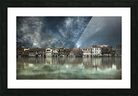Reflections in Venice Picture Frame print