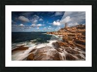 Le phare de Ploumanac'h Picture Frame print