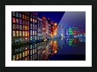 Amsterdam Picture Frame print