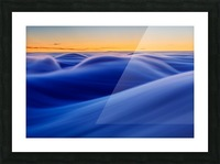 Waves Picture Frame print