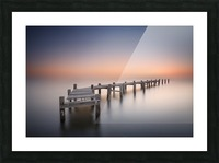 Old pier II Picture Frame print