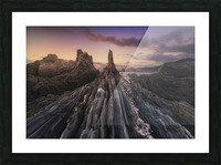 Gueirua Needles Picture Frame print