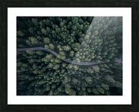 From above Picture Frame print