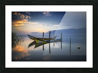 The boats Picture Frame print