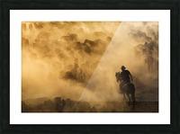 Cappadocia wild horses Picture Frame print