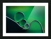 Shifting Shapes Picture Frame print