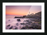 Portland Headlight Picture Frame print