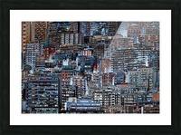Metropolis Picture Frame print