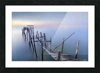 The Old Pier Picture Frame print