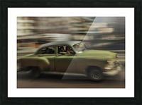 Panning Havana Picture Frame print
