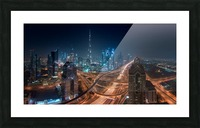 Downtown Picture Frame print