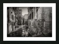Gondolieri Picture Frame print