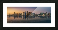 Doha reflections Picture Frame print