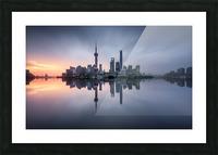 Good Morning Shanghai Picture Frame print