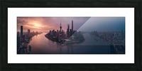 Flying Shanghai Picture Frame print