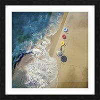 hi summer! Picture Frame print