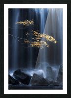 Yellow Autumn Picture Frame print