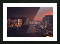 Gran canal Picture Frame print