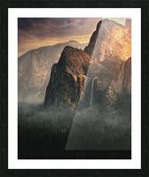 Bridalveil fall, Yosemite Picture Frame print
