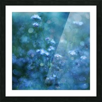 Blue Serenity Picture Frame print