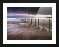 Portstewart Strand Picture Frame print