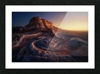 Gold Pocket. Picture Frame print