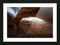 Mesa Arch Picture Frame print
