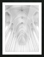 Hallgrimskirkja Church  in Iceland Picture Frame print
