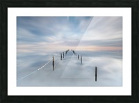 The calm Picture Frame print