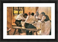 Lunch by Albin Egger-Lienz Picture Frame print