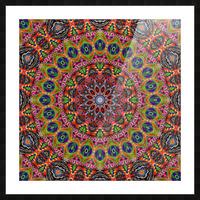 Cherga Mandala I Picture Frame print
