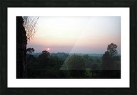 Sunset43 Picture Frame print