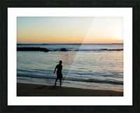 Sunset30 Picture Frame print