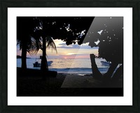 Sunset16 Picture Frame print