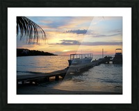 Sunset15 Picture Frame print
