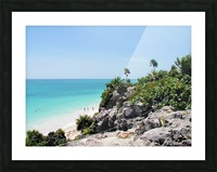 Tropical10 Picture Frame print