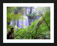 Waterfall3 Picture Frame print