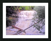 Waterfall8 Picture Frame print